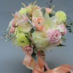 Wedding flowers in Somoma vynery by www.dream-flower.com