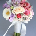 dreamflowerscom-lavender-roses-pink-orchids-ivory-roses-was-dusty-miller-bridesmaids-bouquet (2)