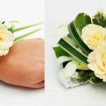 Floral wrist