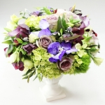 dreamflowerscom-green-purple-wedding-centerpiece (4)