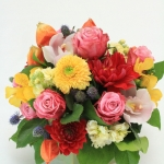Flowers for a retirement party - table centerpiece