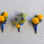 Groom's and Groomsman boutonniere