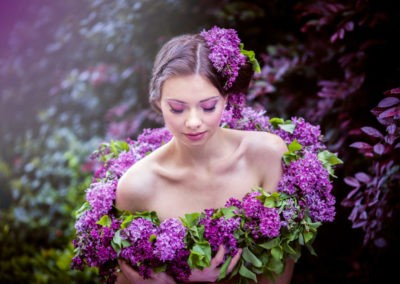 Editorial Styled Shoot - Lilac Clouds