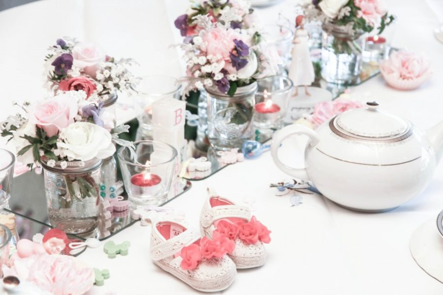 English Tea Party Baby Shower