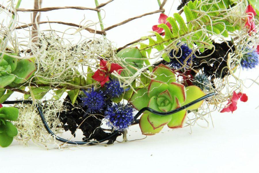 Can Eco, Woodland, Organic wedding bouquet be modern?