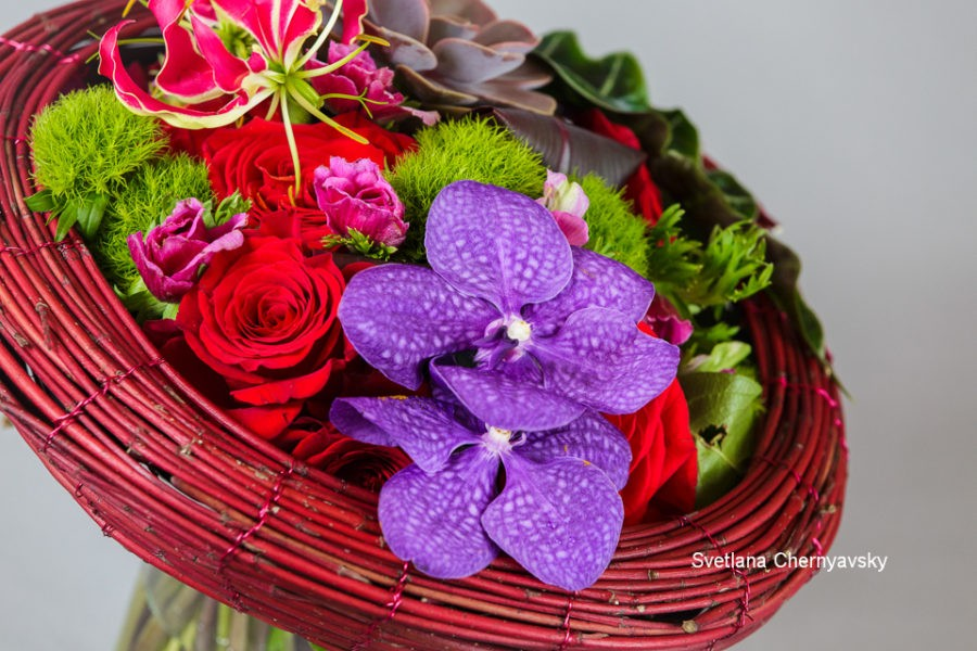 Floral Demonstration at Orinda Garden Club