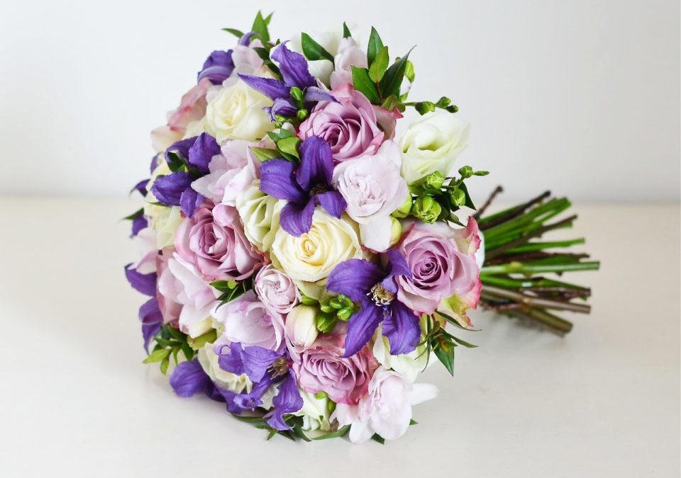 Vintage wedding bouquet for bride