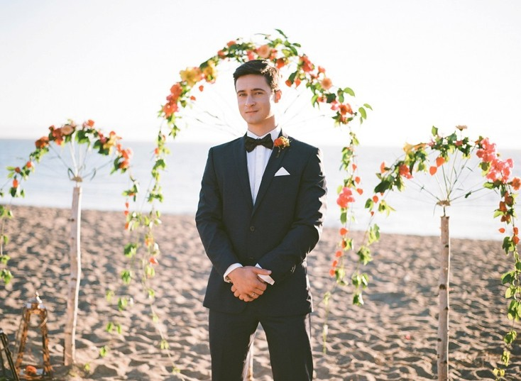 Romantic Beach Wedding Inspirational Photo Shoot
