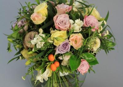 "Bouquet of spring flowers ""Spring in Alameda"""