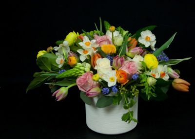 Fresh Flower Arrangement in a vase