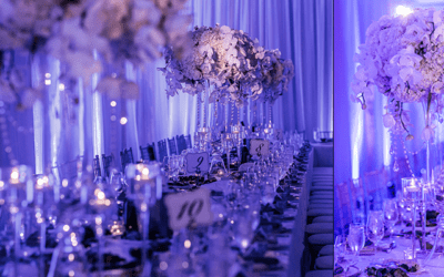 Reception Centerpieces Inspiration: Elevated Floral Designs, Tall Centerpieces