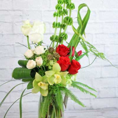 Vase Flower Arrangement Arboretum