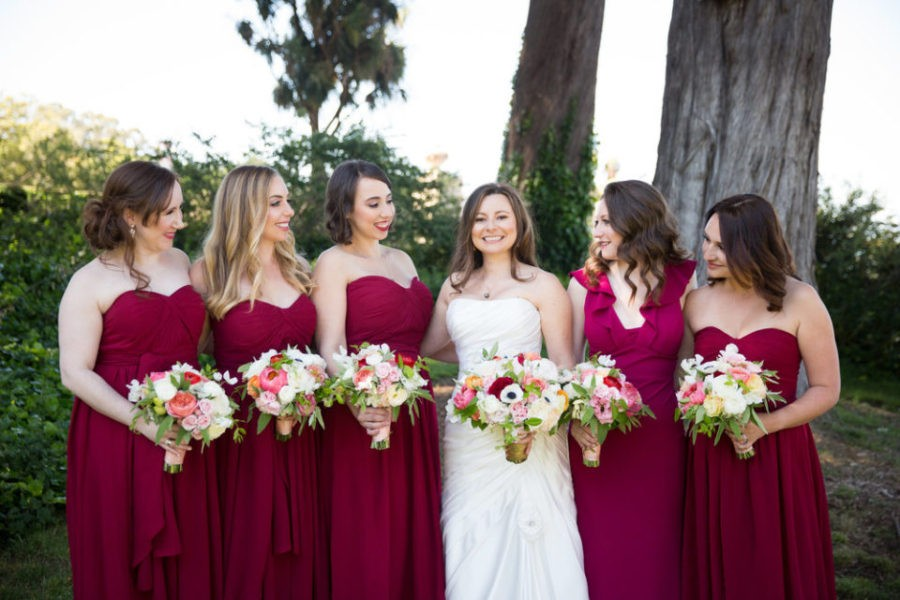 Whimsical Modern Wedding, Golden Gate Club Wedding Maria and Roman