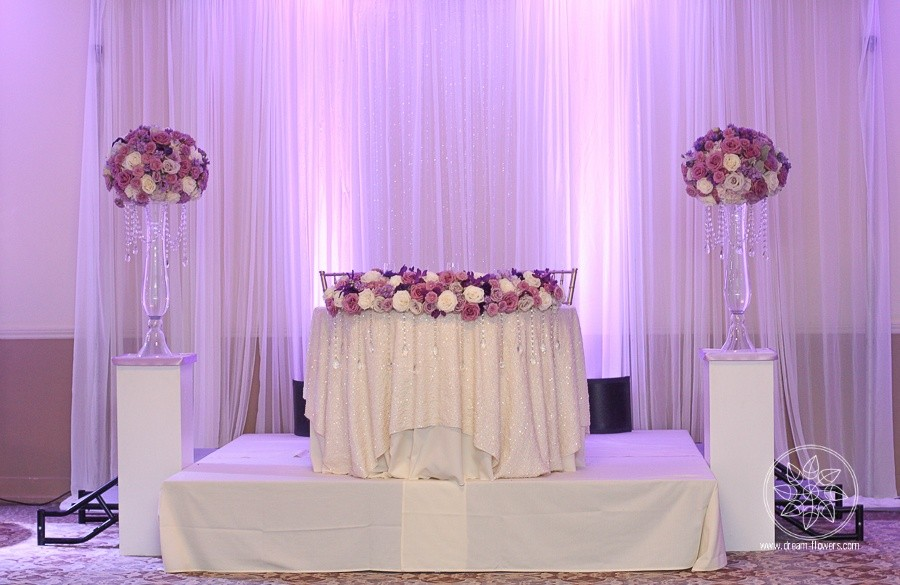 Shades of purple wedding. The Clubhouse at Boundary Oak. Lisa and Oliver