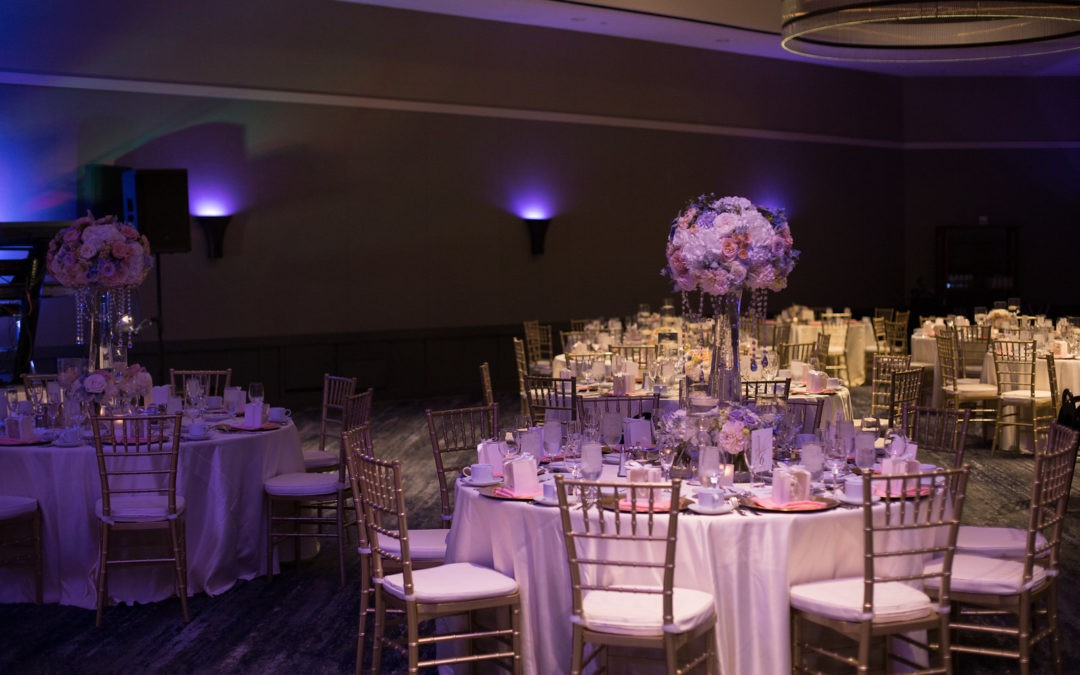Elegant Hotel Wedding for Laila and Antoine. Hyatt Regency wedding